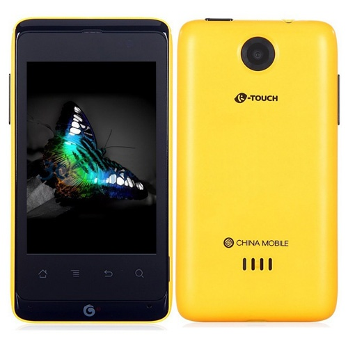 K-Touch T619+ Smartphone Android 2.3 OS SC8810 1.0GHz 3.5 Inch 2.0MP Camera