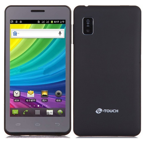 K-Touch T81 Smartphone Android 2.3 OS SC8810 1.0GHz 4.5 Inch WiFi Bluetooth