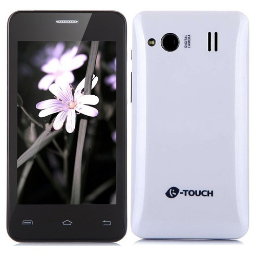 K-Touch C968 Smartphone Android 2.3 MTK6515M 1.0GHz 4.0 Inch WiFi Bluetooth- White