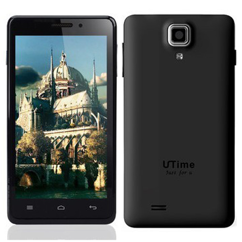 Utime U9 Smartphone Android 4.2 MTK6589 Quad Core 1GB 4GB IPS Screen 4.5 Inch- Black