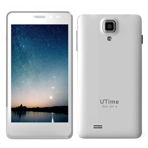 Utime U9 Smartphone Android 4.2 MTK6589 Quad Core 1GB 4GB IPS Screen 4.5 Inch- White