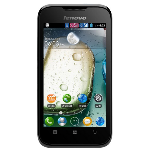 Brand Newe Lenovo A66 Smartphone Android 2.3 MTK6575 1.0GHz 3G GPS 3.5 Inch