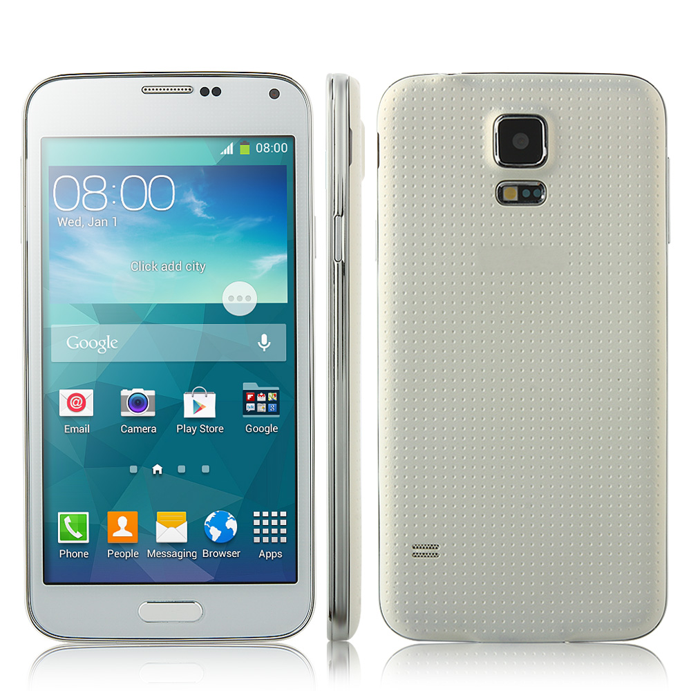 GT-i9600 Smartphone MTK6582 1GB 8GB Android 4.2 5 Inch Air Gesture OTG - White