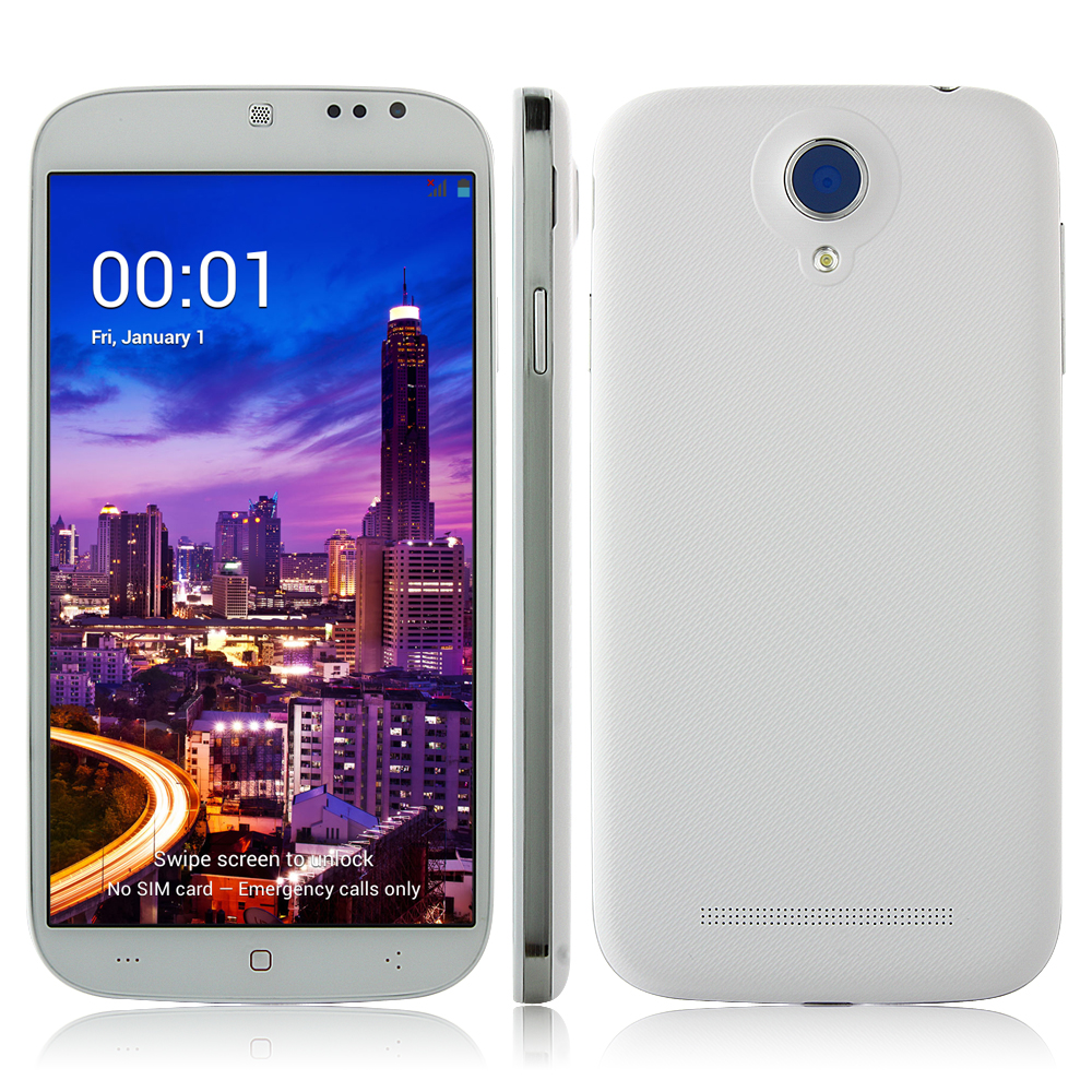Tengda S1 Smartphone MTK6582 1GB 4GB Android 4.2 5 Inch OTG Air Gesture - White