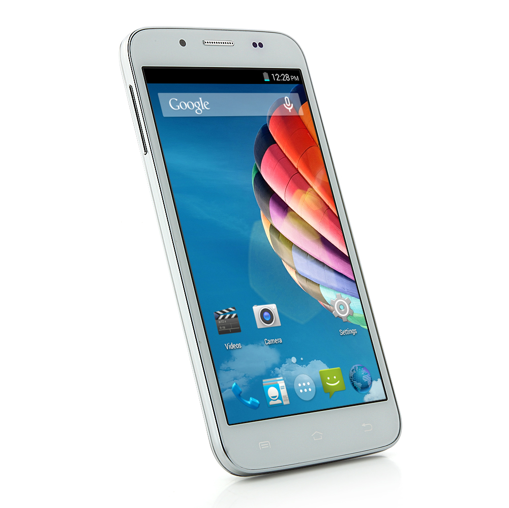 OTIUM S5 Smartphone Android 4.4 MTK6582 5.0 Inch IPS Screen Air Gesture OTG - Blue Grey