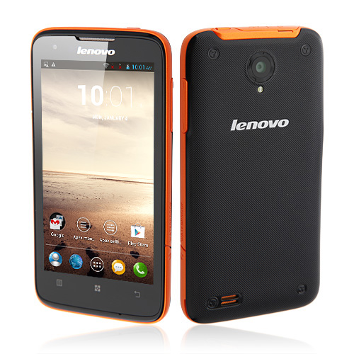 Lenovo S750 IP67 Quad Core Smartphone MTK6589 Android 4.2 4.5 Inch Gorilla Glass Screen