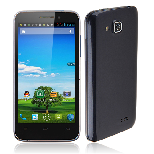 W318 Smartphone Android 4.2 MTK6589 Quad Core 5.0 Inch HD Screen 3G GPS