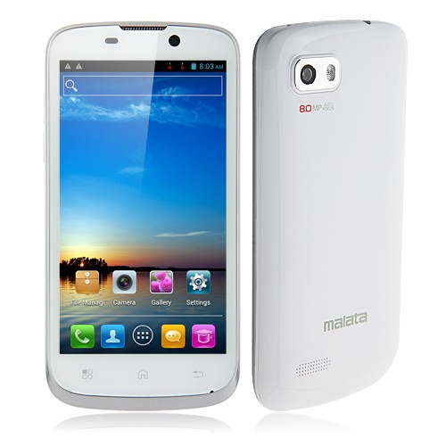 Malata Z8 Smartphone 4.5 Inch IPS QHD Screen MTK6577 Dual Core Android 4.0 3G GPS