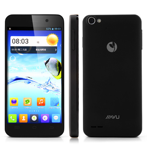 JIAYU G4 Advanced Smartphone MTK6589T Quad Core 2GB 32GB 4.7 Inch HD IPS Retina Screen Android 4.2 Gyroscope- Black