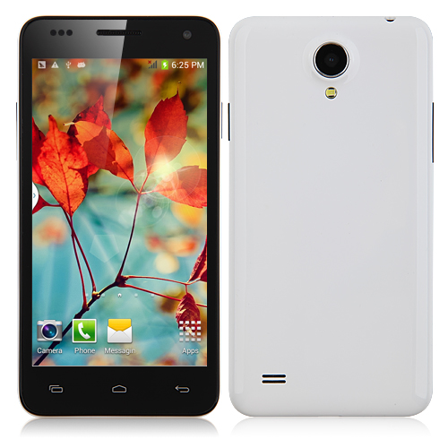 W450 Smartphone MTK6582 Quad Core 1.3GHz Android 4.2 3G GPS 4.5 Inch- White