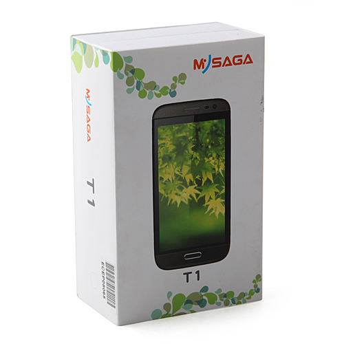 MYSAGA T1 Smartphone Android 4.2 MTK6589 Quad Core 5.0 Inch HD IPS Screen 13.0MP Camera