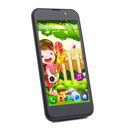 ZOPO ZP700 Cuppy Smartphone MTK6582 Quad Core 1.3GHz Android 4.2 4.7 Inch 3G GPS OTG OTA- Black