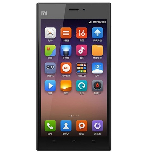 XIAOMI MI3 Smartphone Snapdragon 800 2.3GHz 2GB 16GB 5.0 Inch FHD OGS Screen- Black