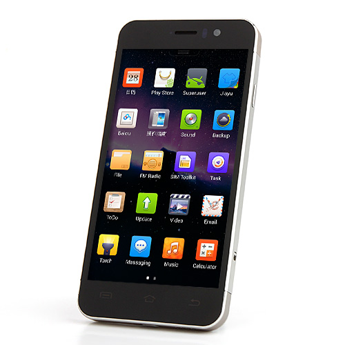 JIAYU G5 Smartphone 2GB 32GB MTK6589T Android 4.2 4.5 Inch Gorilla Glass Screen 3G OTG 13.0MP Camera with Gift