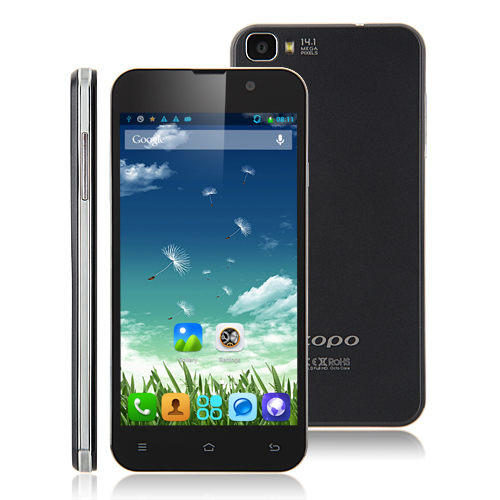 ZOPO ZP980+ Smartphone MTK6592 5.0 Inch FHD Screen 32GB Double Cell- Black