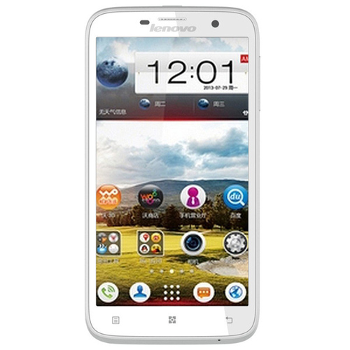 Lenovo A850 Smartphone Android4.2 5.5 Inch MTK6582 Quad Core 3G GPS 1GB 4GB- White