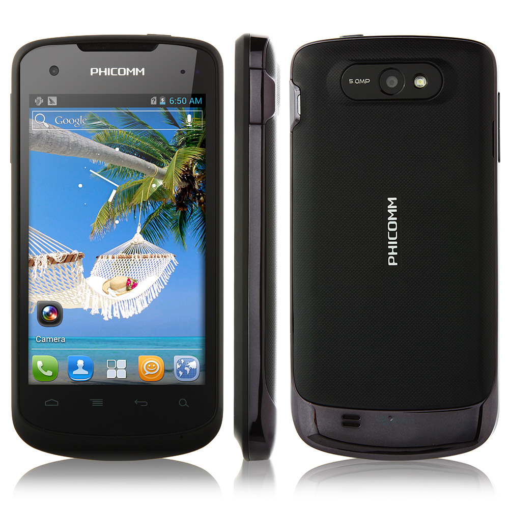 Used Phicomm FWS710 Smartphone 3.7 Inch WVGA Screen Android 4.0 3G GPS Play Store