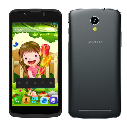 Brand New ZOPO ZP580 Smartphone Android 4.2 MTK6572W 3G GPS 4.5 Inch QHD Screen- Black