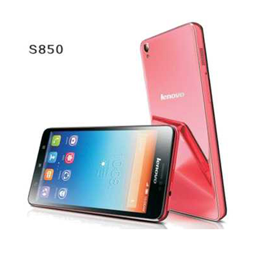 Lenovo S850 Smartphone Android 4.4 Glass Shell 5.0 Inch HD Gorilla Glass 16GB- Pink