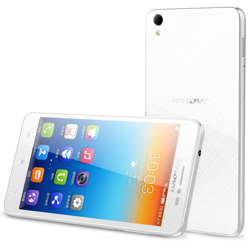 Lenovo S850 Smartphone Android 4.4 Glass Shell 5.0 Inch HD Gorilla Glass 16GB- White