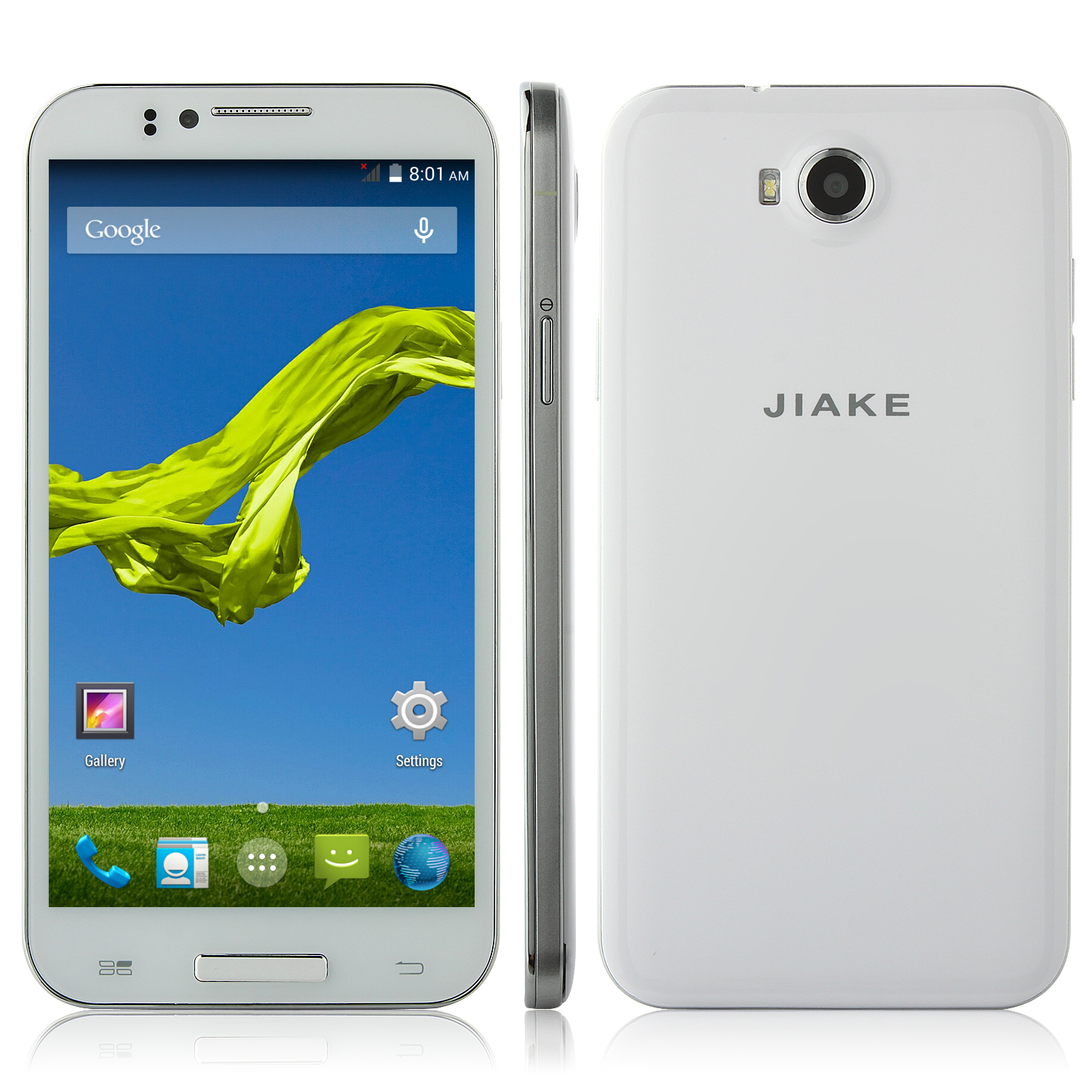 Used JIAKE JK2 Smartphone MTK6592 Octa Core Android 4.4 5.5 Inch HD IPS Screen 3G GPS