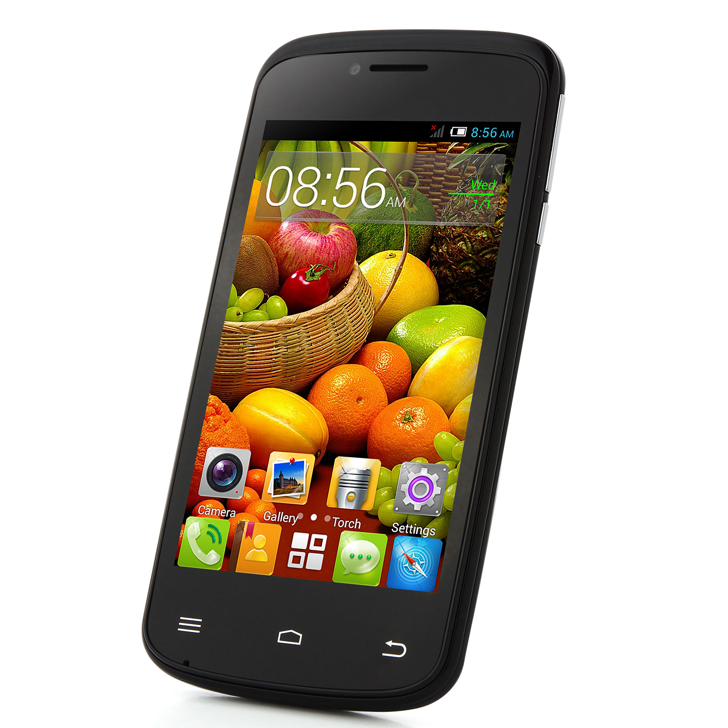 Cubot GT95 Smartphone MTK6572W Dual Core 4.0 Inch  Android 4.4 - Black