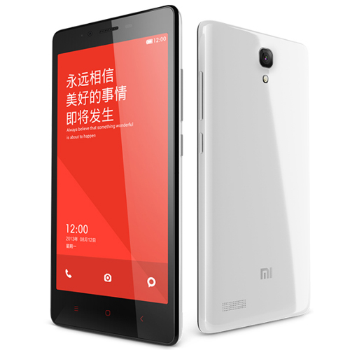 XIAOMI Redmi Note MTK6592 2GB 8GB 5.5 Inch HD IPS Screen 13.0MP 3100mAh