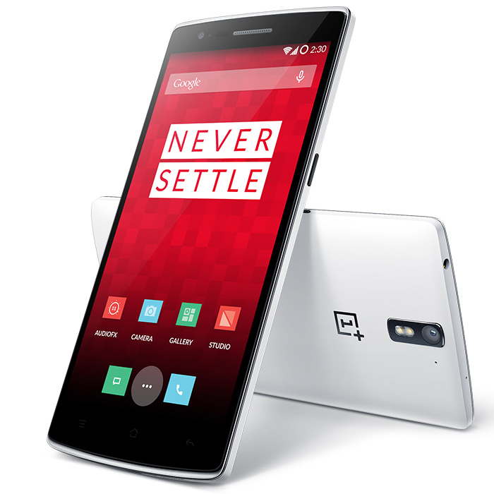 ONEPLUS ONE Smartphone 3GB 16GB Snapdragon 801 2.5GHz 5.5 Inch Gorilla Glass FHD White