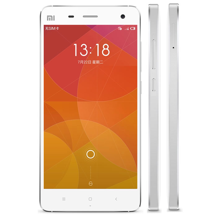 XIAOMI MI4 Smartphone 3GB 16GB Snapdragon 801 3G Version 5.0 Inch FHD Screen White