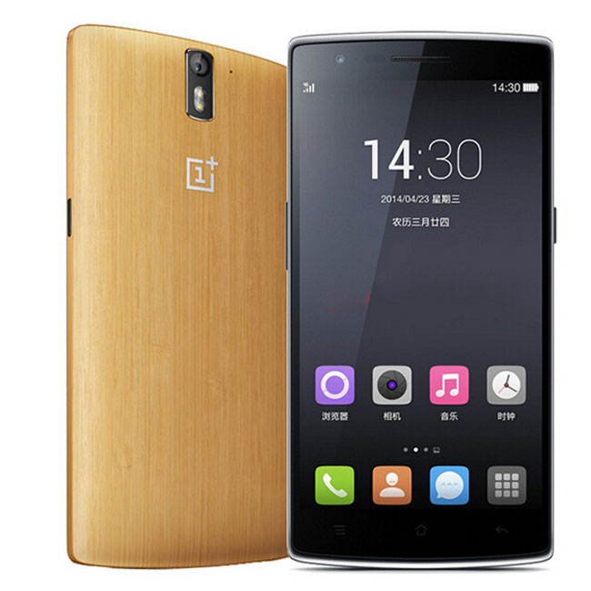ONEPLUS ONE Bamboo Edition 4G LTE 3GB 64GB Snapdragon 801 2.5GHz 5.5 Inch Gorilla Glass