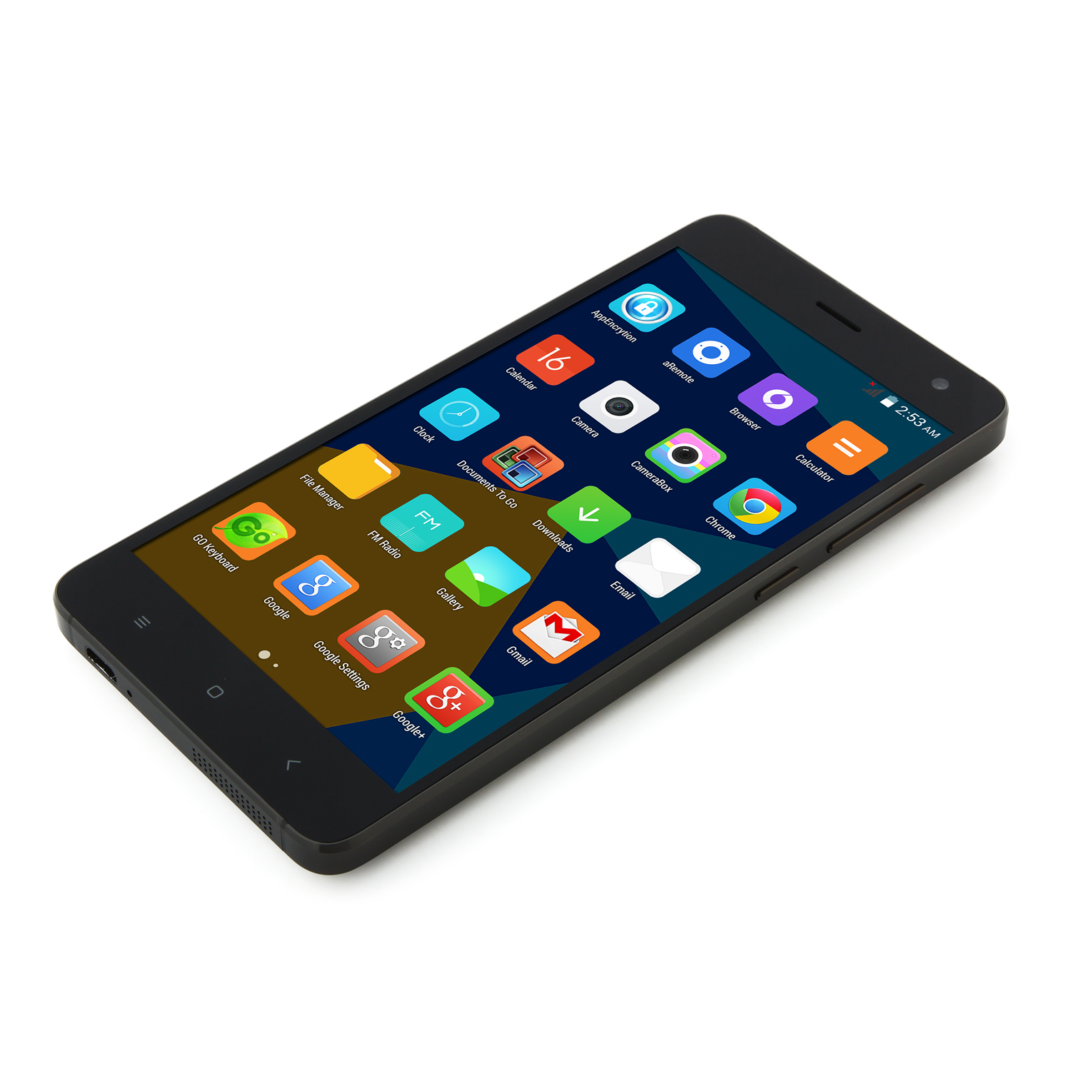 DOOGEE HITMAN DG850 Smartphone 5.0 Inch SHARP Screen 1GB 16GB 13.0MP Camera- Black