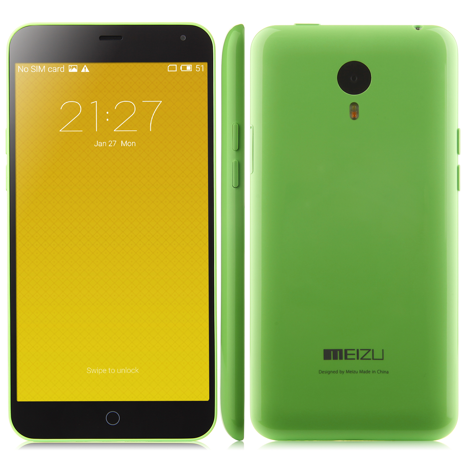 MEIZU m1 note 64bit Octa Core 5.5 Inch Gorilla Glass FHD Screen 2GB 16GB 3140mAh- Green