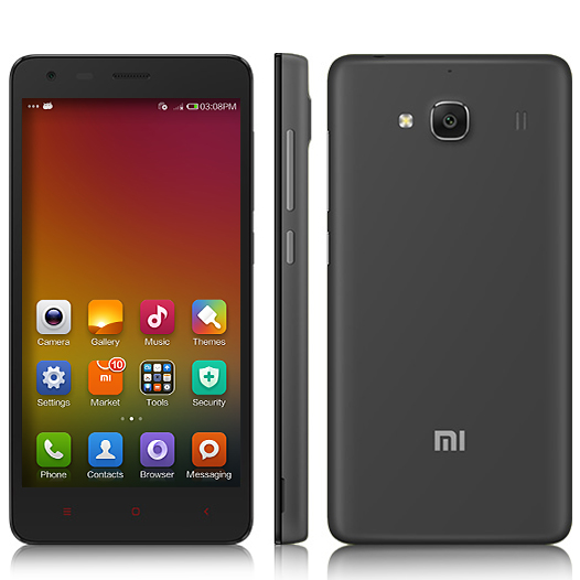 XIAOMI Redmi 2 Smartphone 64bit 4G Quad Core 4.7 Inch HD Screen 8.0MP GLONASS- Grey