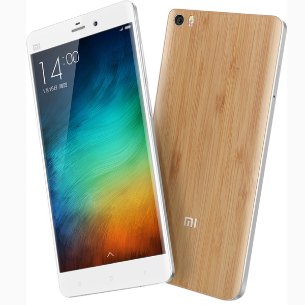 XIAOMI MI Note Bamboo Shell 4G LTE Snapdragon 801 Quad Core 2.5GHz 3GB 16GB 5.7 Inch