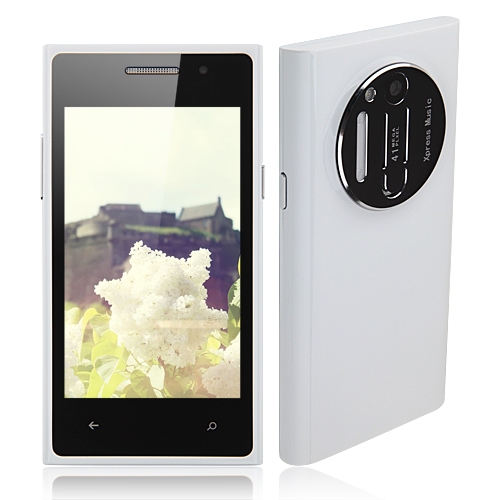 N1020 Smartphone Android 2.3 SC6820 1.0GHz 4.0 Inch WiFi FM -White