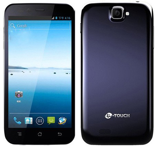 K-Touch W95 Smartphone Android 4.2 Broadcom 21663 Dual Core 1.0GHz 5.0 Inch 3G GPS -Dark Blue