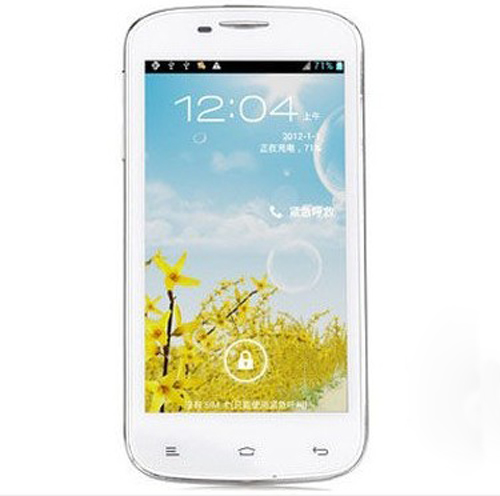 K-Touch U81 Smartphone Android 4.0 MTK6517 1.0GHz 4.5 Inch WiFi GPS -White