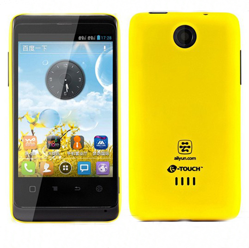 K-Touch W619 Smartphone Android 4.0 MSM7225A 3.5 Inch 3G GPS -Yellow