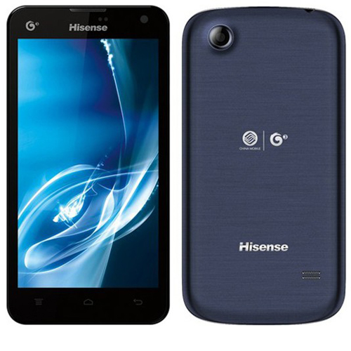 Hisense T960 Smartphone Android 4.1 MTK6517 Dual Core 1.0GHz 5.0 Inch IPS Screen GPS -Dark Blue