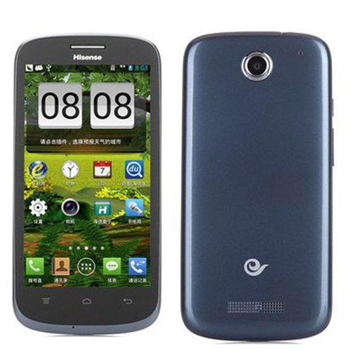 Hisense E956Q Smartphone Android 4.1 MSM8625Q Quad Core 1.2GHz 4.5 Inch 3G GPS -Blue