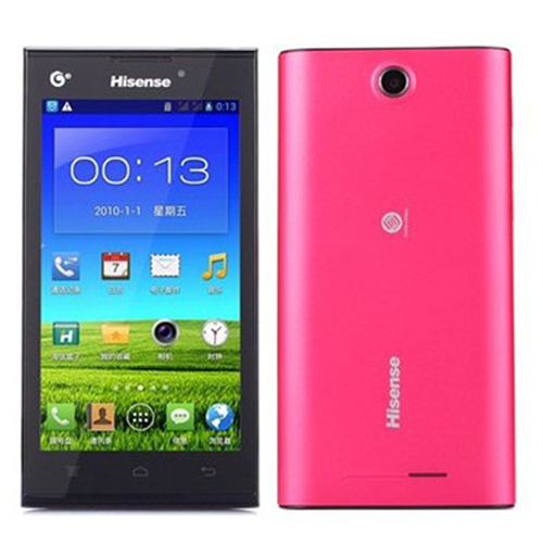 Hisense T959 Smartphone Android 4.2 MTK6589M Quad Core 4.5 Inch 3G GPS -Red