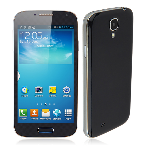 I9500 Smartphone Android 4.2 SC6825 Dual Core 1.2GHz 4.7 Inch WiFi -Black with Gift