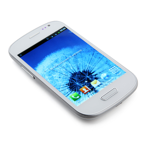 Mini I9300 Smartphone Android 2.3 SC8810 1.0GHz 4.0 Inch WiFi FM -White