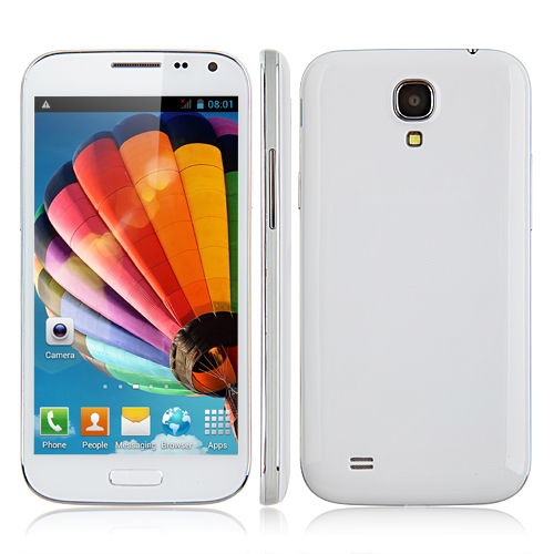 Used JIAKE I9500W Smartphone Android 4.2 MTK6582 Quad Core 1.3GHz 3G GPS 5.0 Inch