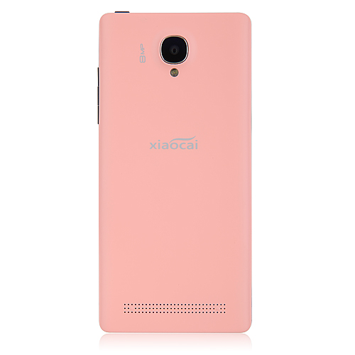 XIAOCAI X9S Smartphone Android 4.2 MTK6582 Quad Core 1.3GHz 1GB 4GB 4.5 Inch 8.0MP Camera -Pink