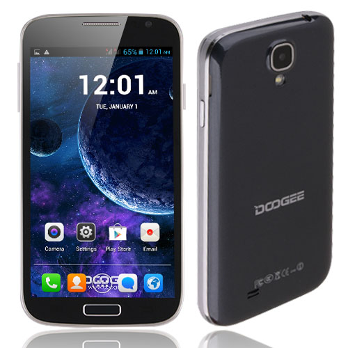 DOOGEE VOYAGER DG300 Smartphone Android 4.2 MTK6572W 5.0 Inch 3G Black