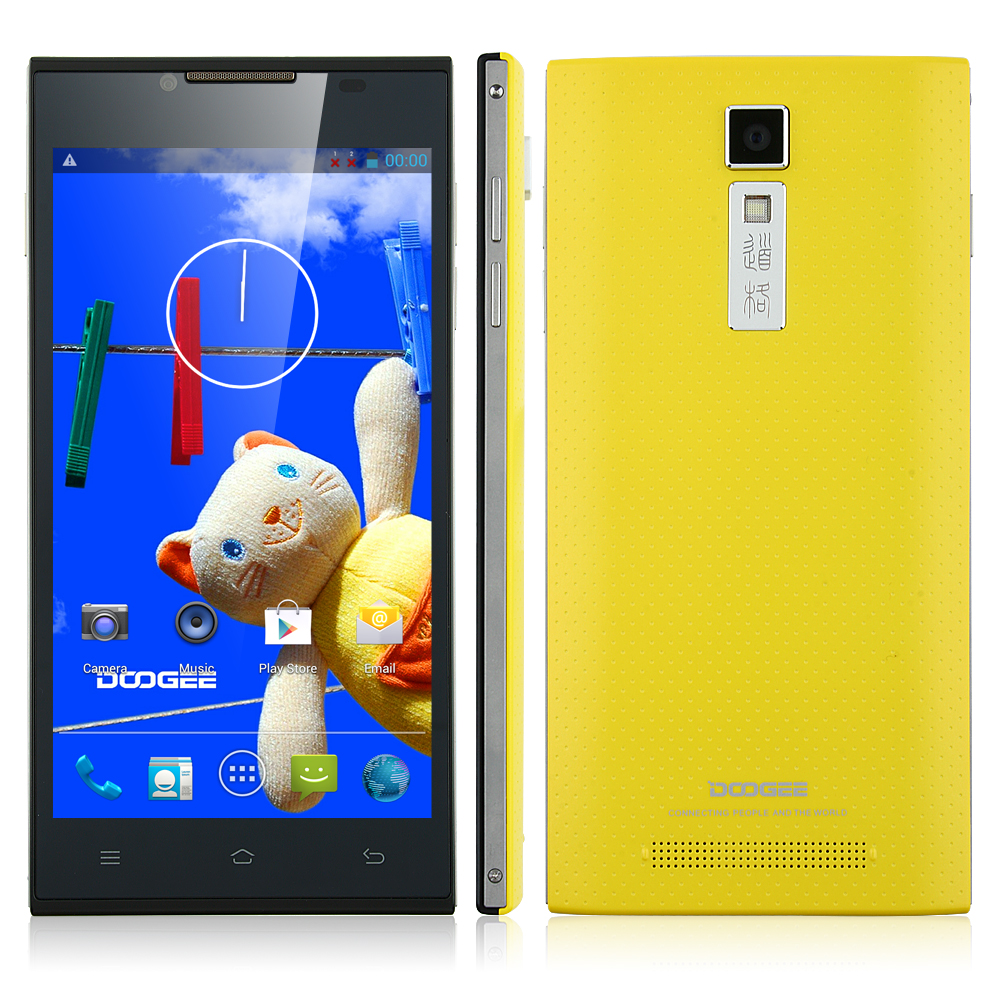 Limited Villarreal Edition DOOGEE TURBO DG2014 MTK6582 5.0 Inch