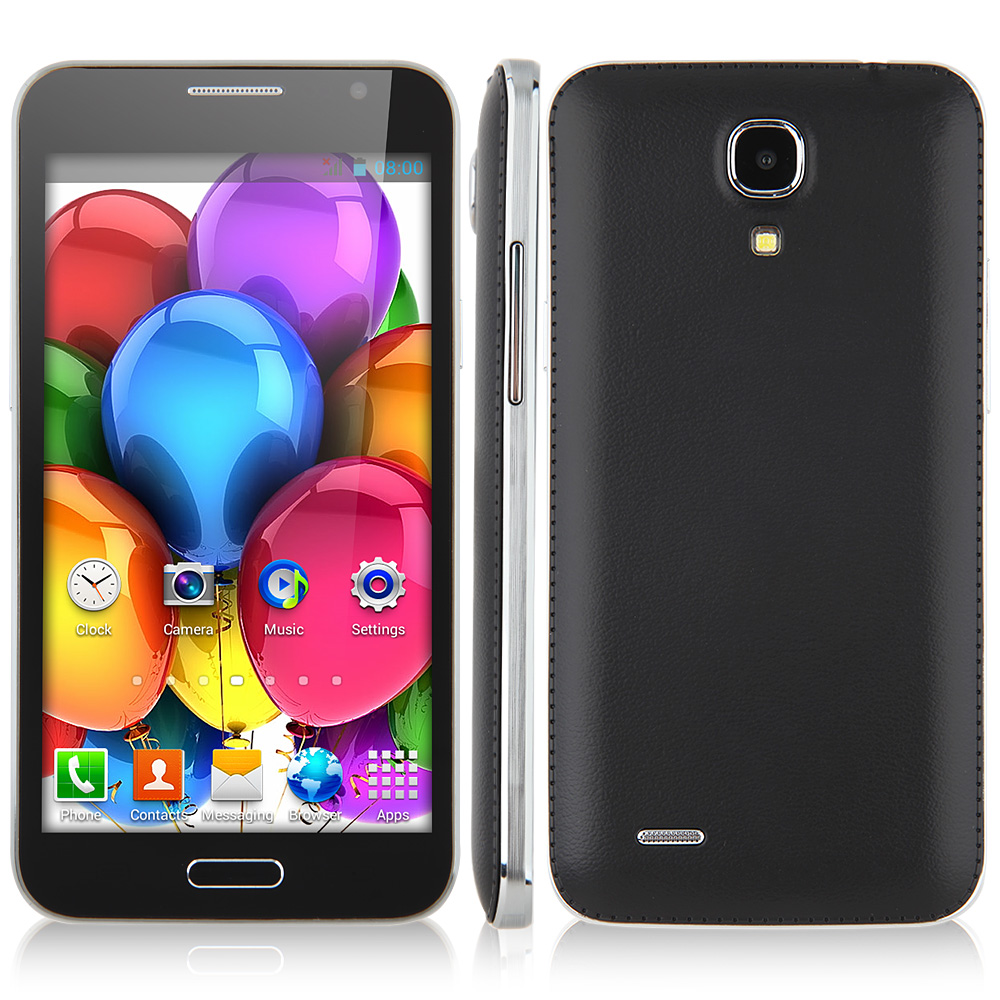 JIAKE G910 Smartphone Android 4.2 MTK6572 Dual Core 5.0 Inch Black