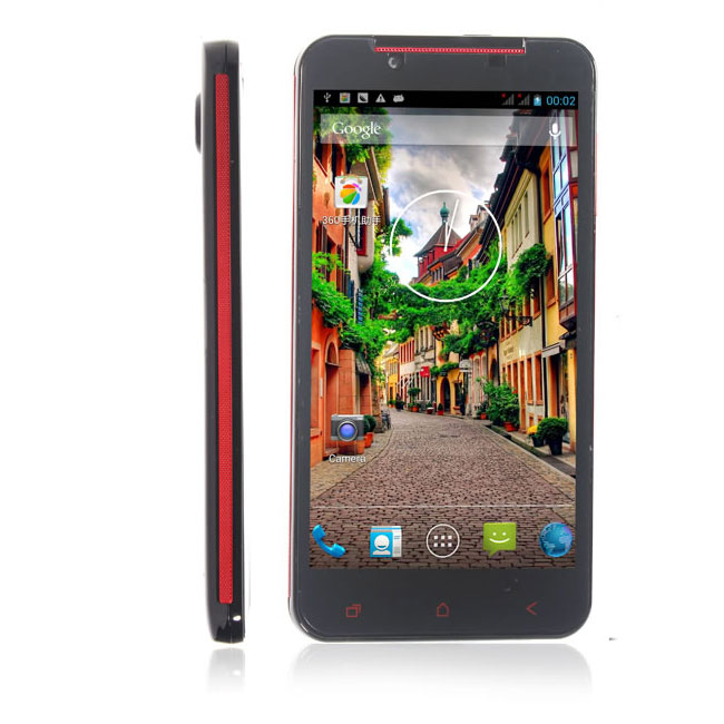 Pulid F17 Smartphone 2G 32GB 5.0 Inch HD IPS Screen MTK6589T Android 4.2 3G- Black