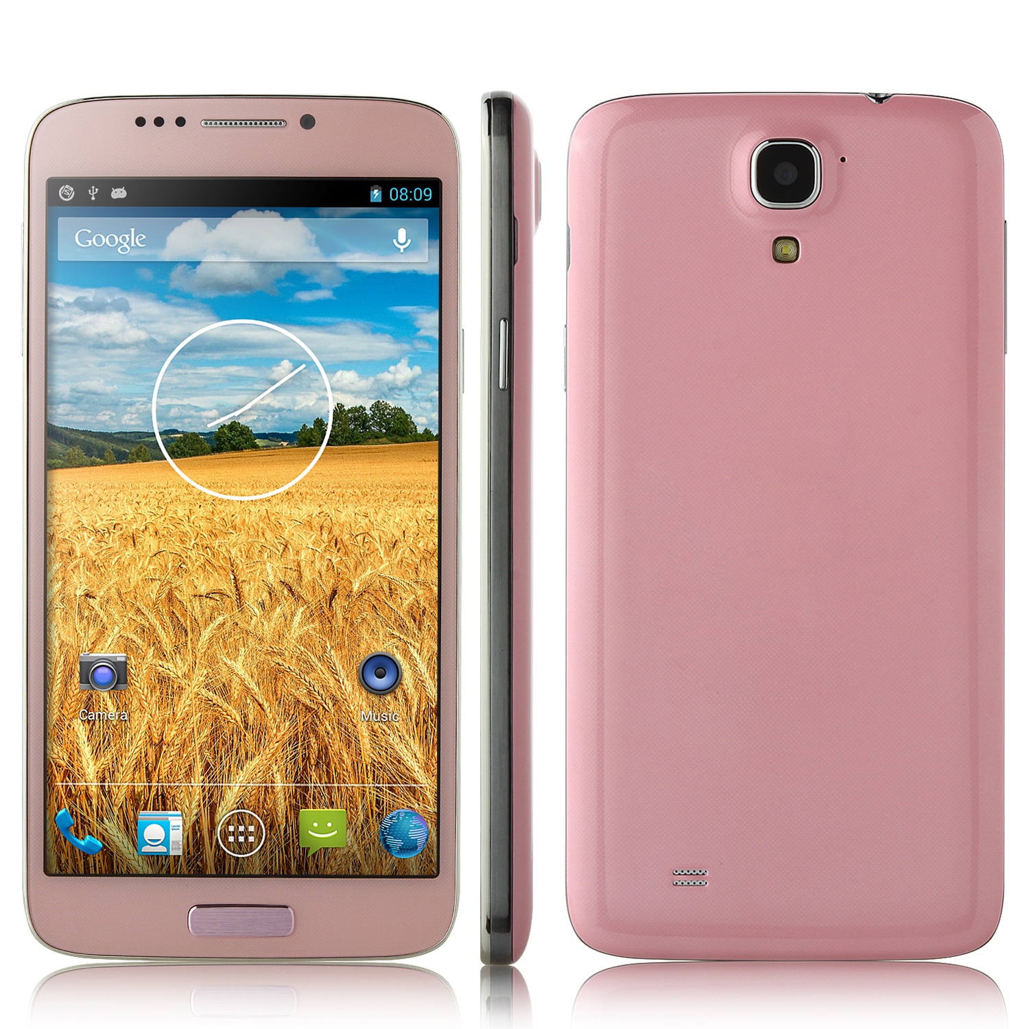 Brand New Tianhe H8 Smartphone MTK6592 6.0 Inch HD IPS Screen Android 4.2 OTG 1GB 16GB